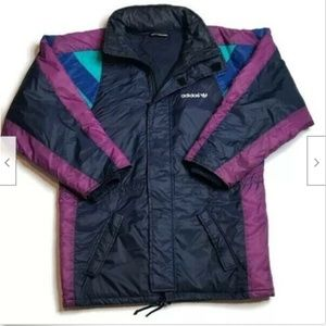 Adidas Women's Vintage Puffer Jacket One Size Fit
